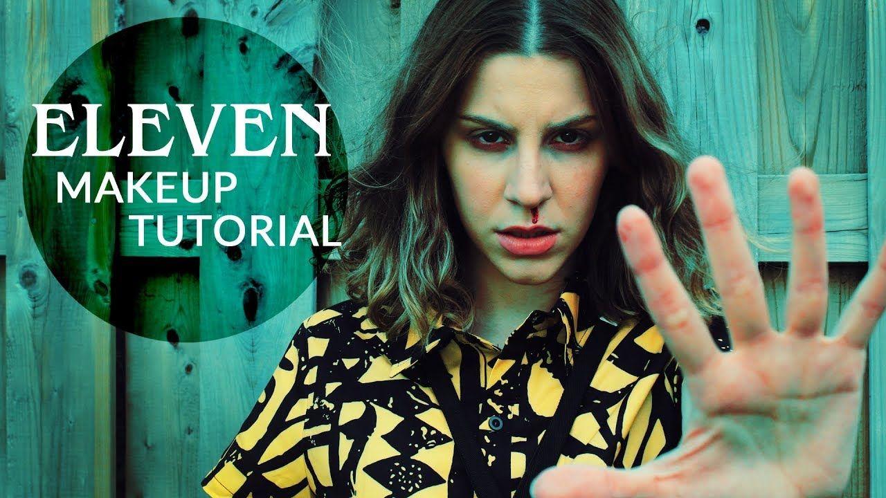 Stranger Things ELEVEN Makeup Tutorial Makeup tutorial