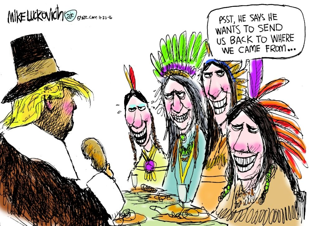 thanksgiving with trump