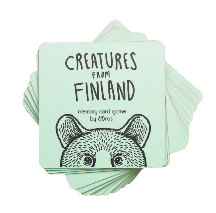 Andbros - Creatures from Finland muistipeli
