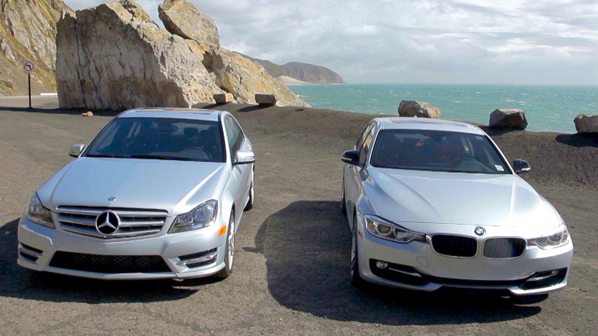 BMW 328i vs Mercedes Benz C250 Head 2 Head Episode 9