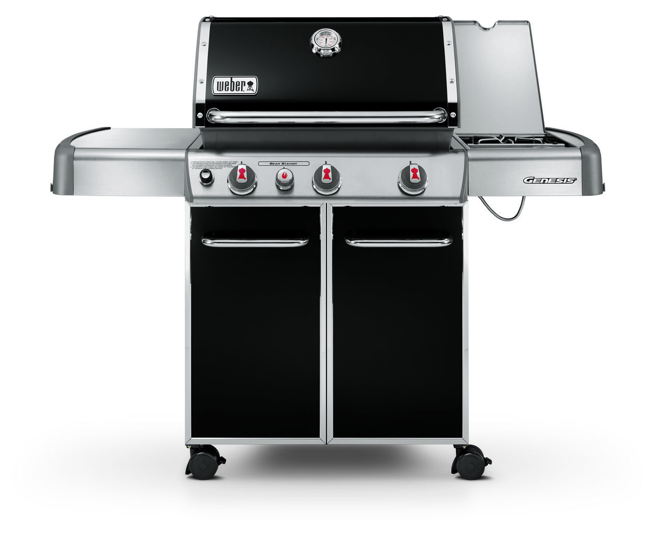 Weber Genesis E330 Lp Bbq Outdoor Kitchen Grill Backyard Grilling Gas Grill