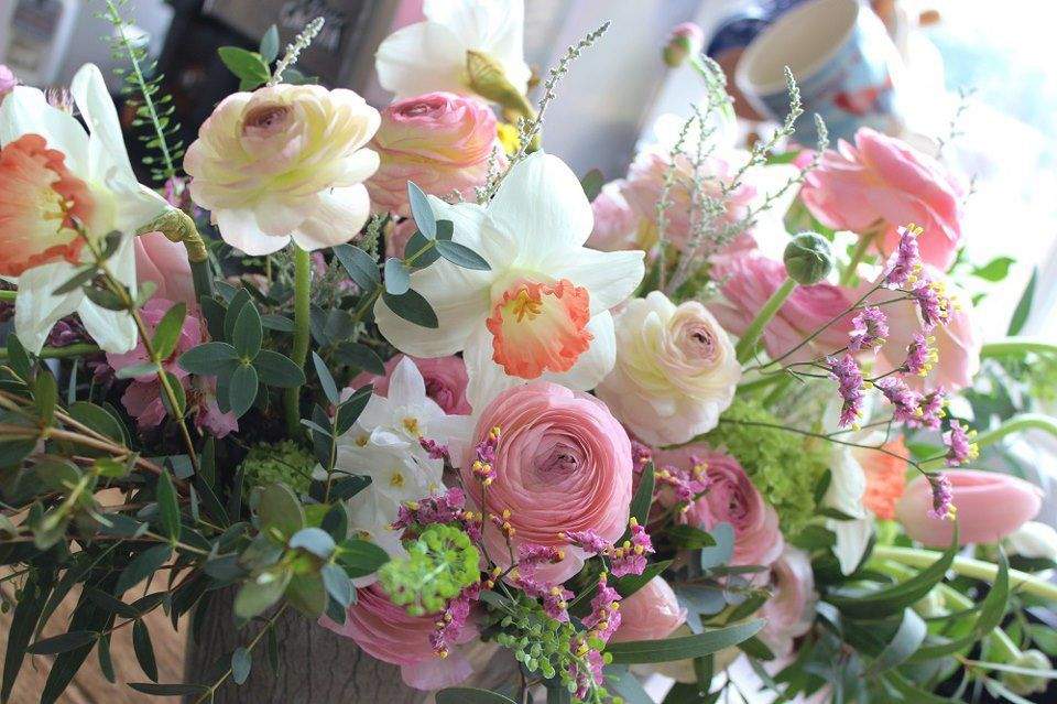 Lock Cottage Flowers West Byfleet Surrey flowers florist wedding