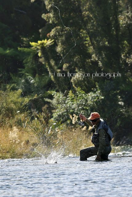 Fly Fishing on the Moeraki River - New Zealand