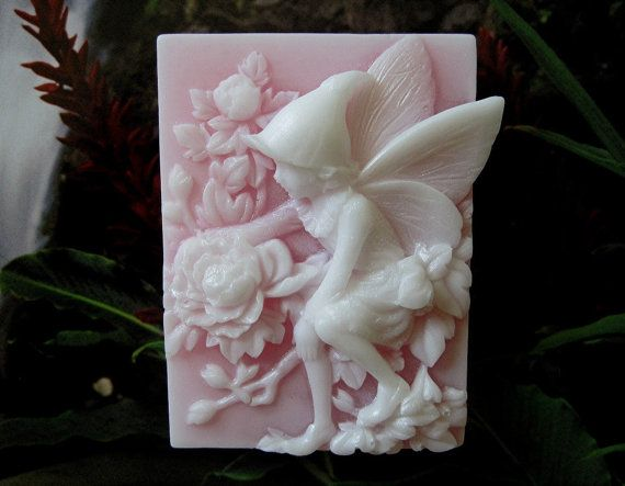 Soap. Fairy of the Peonies with Peony fragrance . by GentleSuds, $5.50