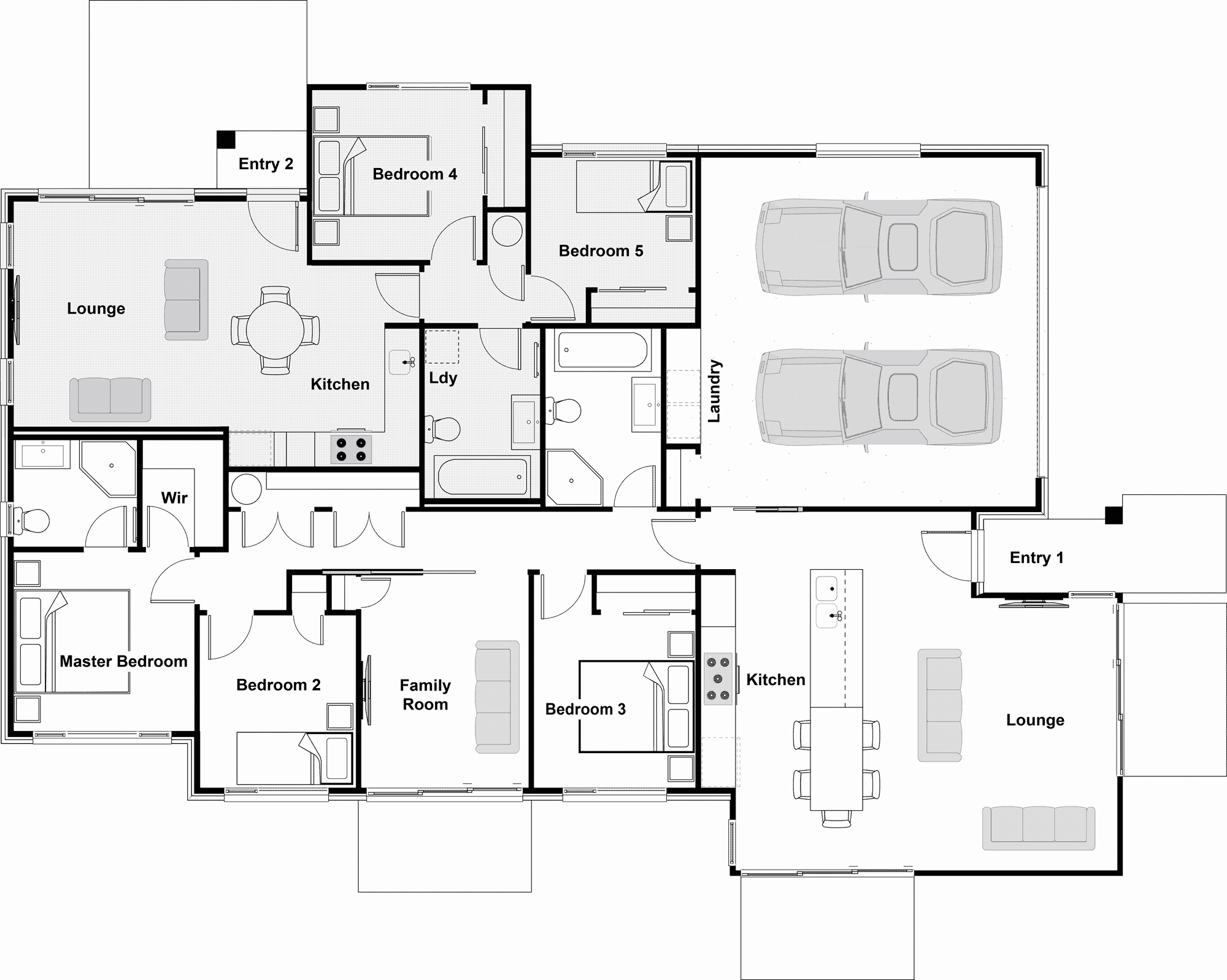 Elegant Split Level House Plans Nz 8 Aim In 2020 Rv Floor Plans Travel Trailer Floor Plans House Plans