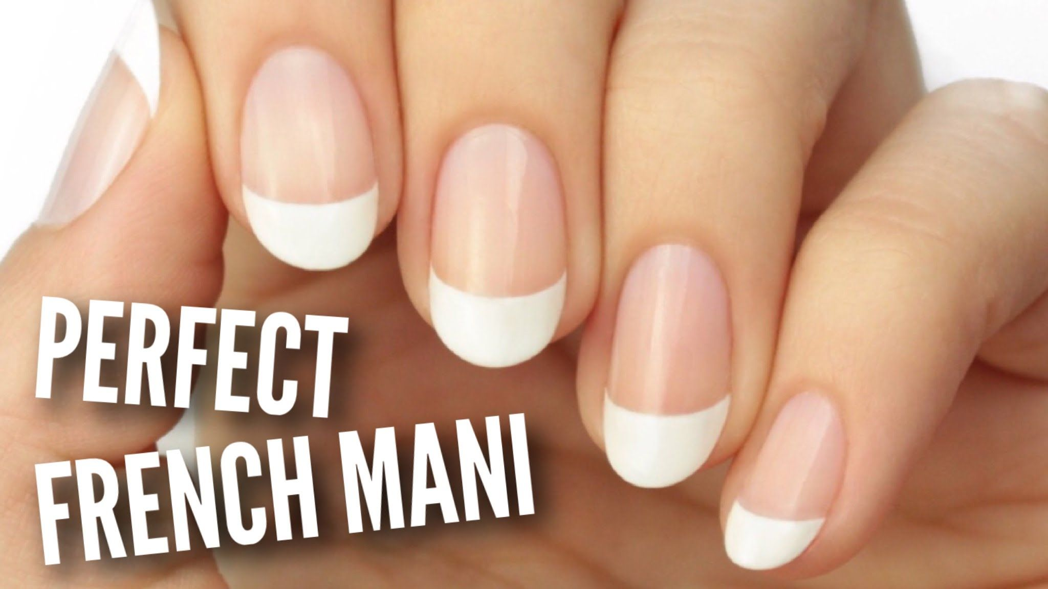 Paint A French Manicure Perfectly! | Nail Art | Pinterest | Manicure