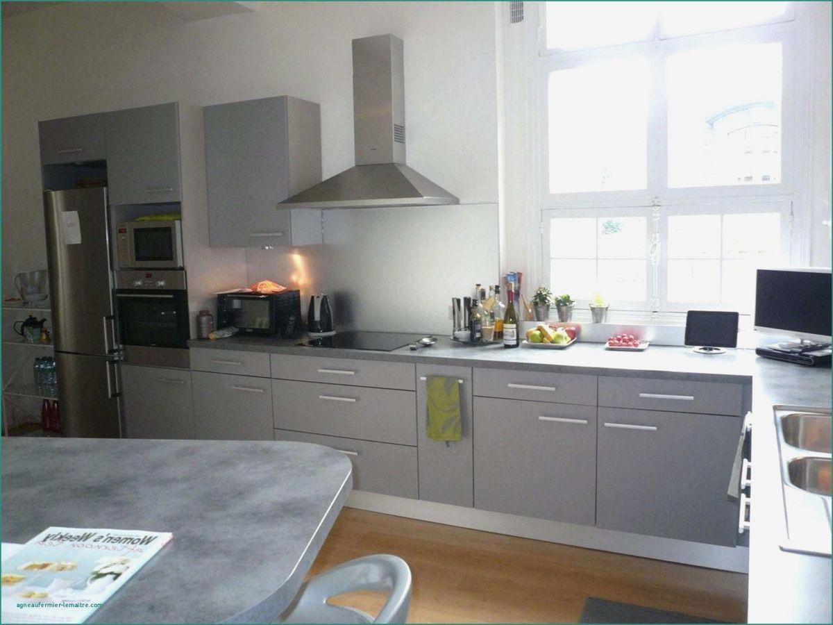 55 Cuisine Taupe Et Noir Home Kitchen Cabinets