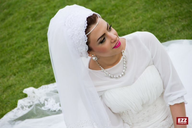 Bridal Headscarf Veil Inspiration