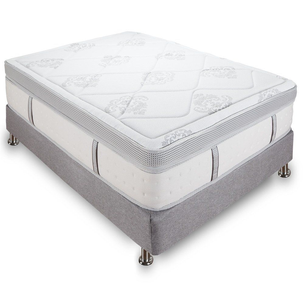 classic brands mercer 12 inch hybrid cool gel memory foam and