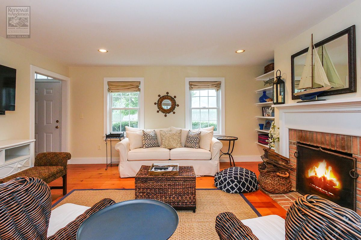 stunning living room of this long island home where we installed