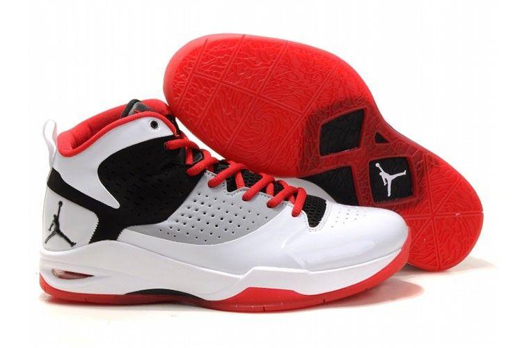 wholesale dealer d124b 05242 Nike Air Jordan Wade 1 Herresko Hvid Sort Rød