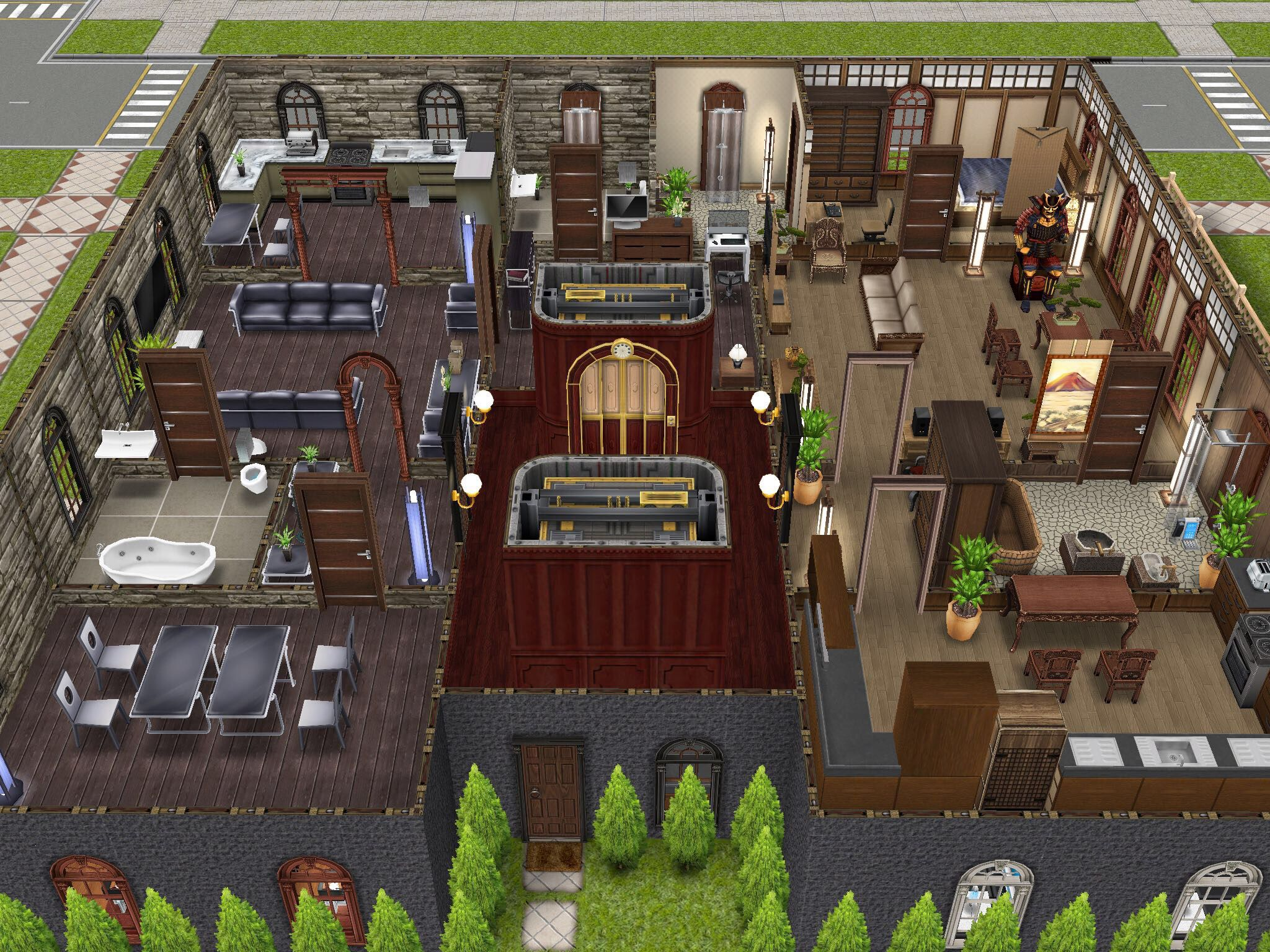 three story apartments level 2 thesims simsfreeplay freeplay