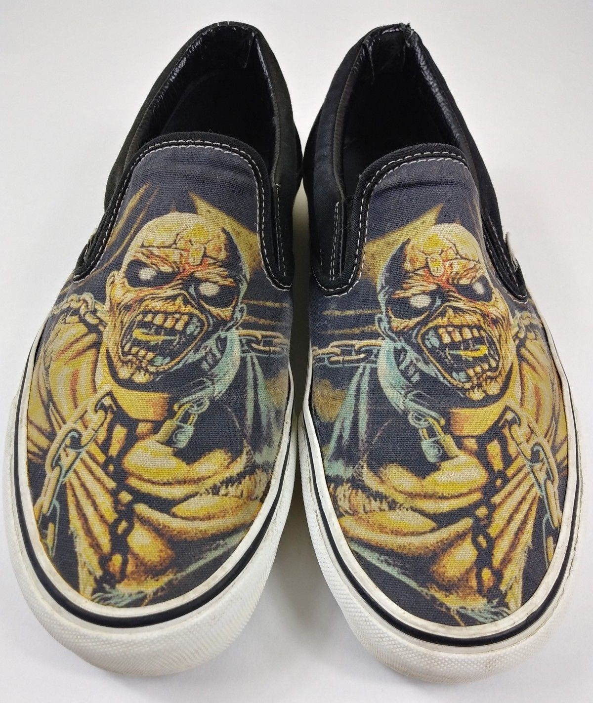 8e1b3afc32 Details about Vans Iron Maiden