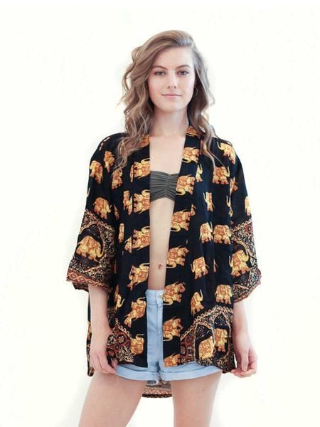 77acf85c01c Mona Elephant Kimono Cardigan - The Elephant Pants - Save the Elephants and  Save 10 % use my code at Checkout! DestinyMurphy10