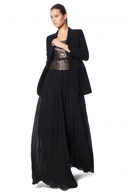 Vestido efecto dos piezas vestidos adolfo dominguez for Vestidos adolfo dominguez outlet online