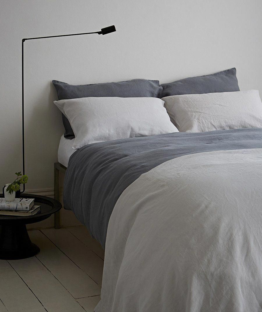 best places to buy pure linen bedding charcoal linen from