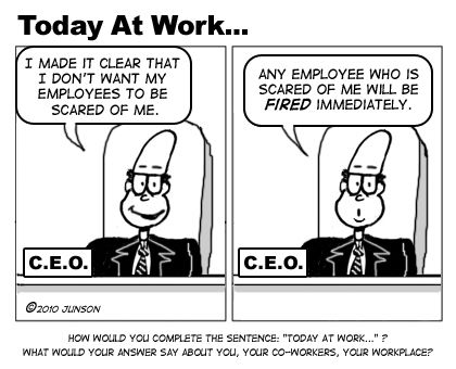 Another employee engagement failure!