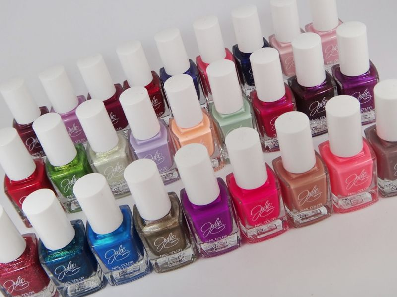 This brand (Julie G) has a lot of great T4 nail polish colors, and ...