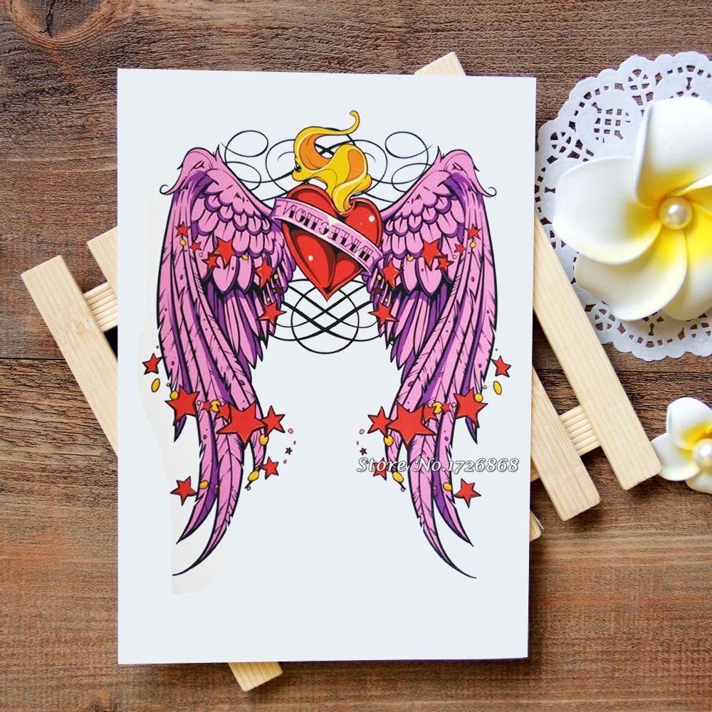 6277a8a13 Waterproof Temporary Tattoos Stickers Alice girl Tattoo Flash Water  Transfer Tattoos fake tattoos for women men #431   Tattoo & Body Art   Tattoo  transfers, ...