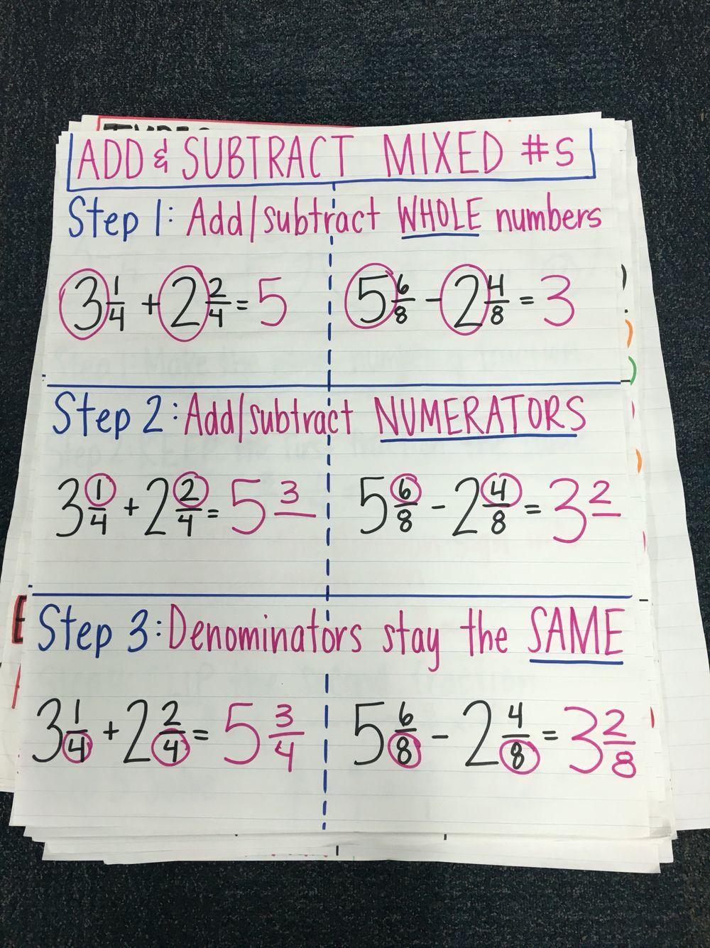 Grade 4 Math Pin