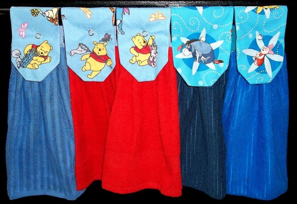 Hanging Kitchen Towels Winnie The Pooh And Friends 2 Winnie