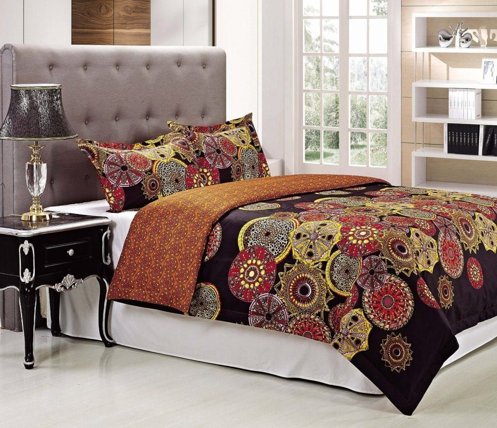 300 thread count sunburst duvet cover set king california king