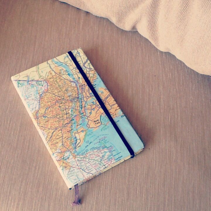 Book Cover Craft Map : Diy notebook cover pinterest covers