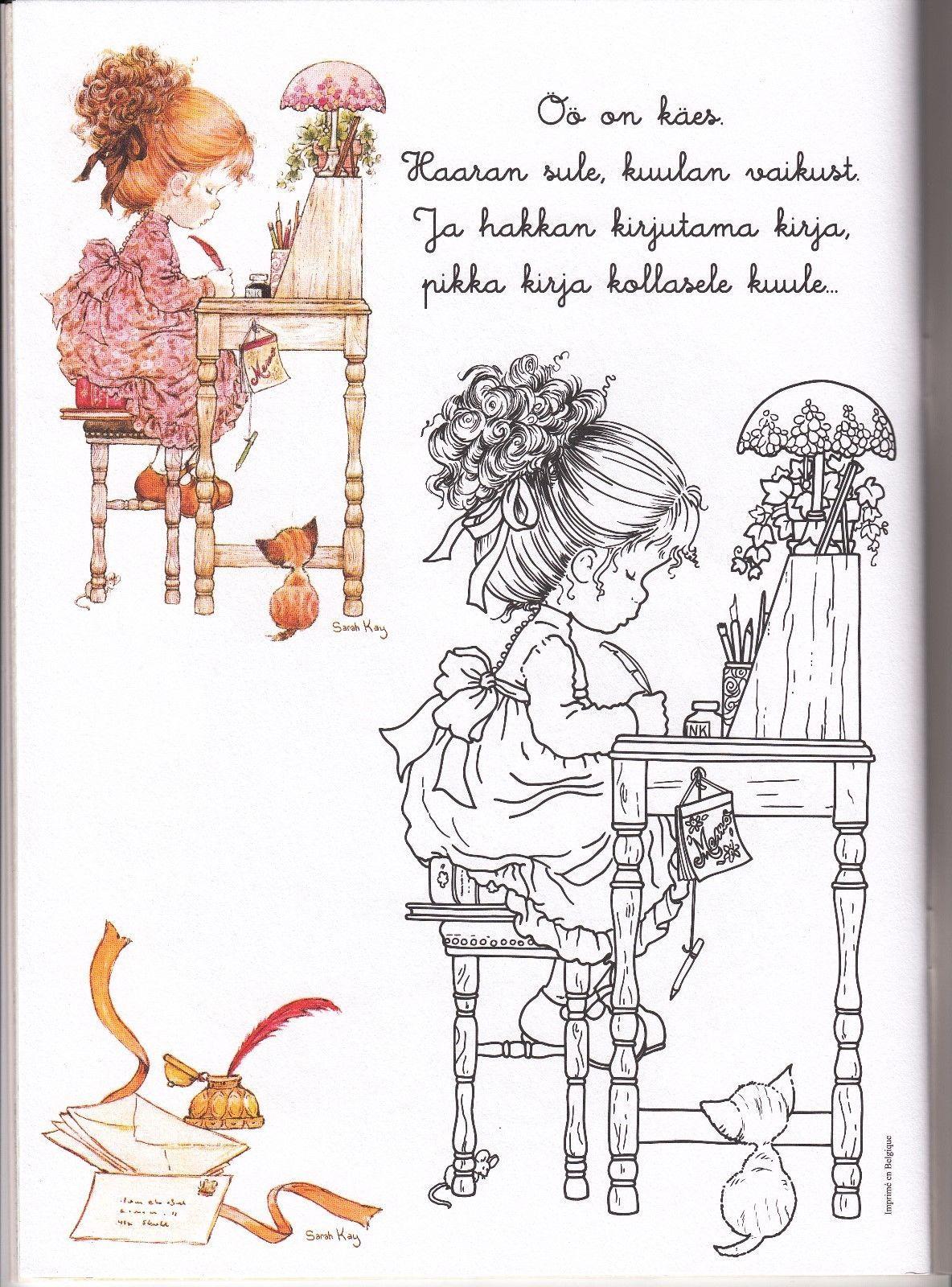 Sarah Kay Coloring Book Stickers Poster Calendar
