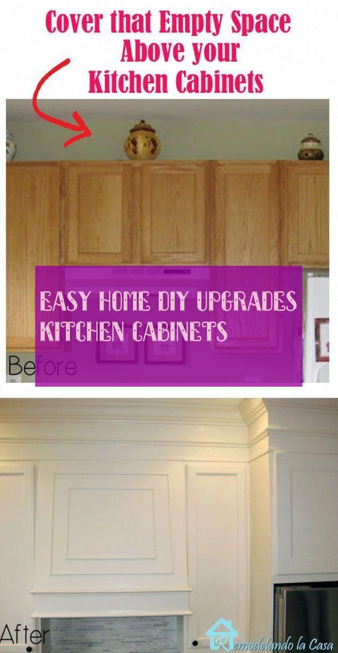 easy home diy upgrades kitchen cabinets
