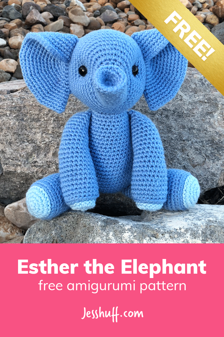 Esther the Elephant Free Amigurumi Pattern