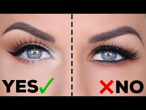 HOODED EYES DO'S AND DON'TS!! YouTube Makeup for