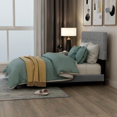 Lumibee Upholstered Standard Bed | Wayfair