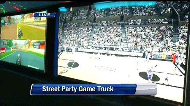 Street party game truck 2 | News  - Home