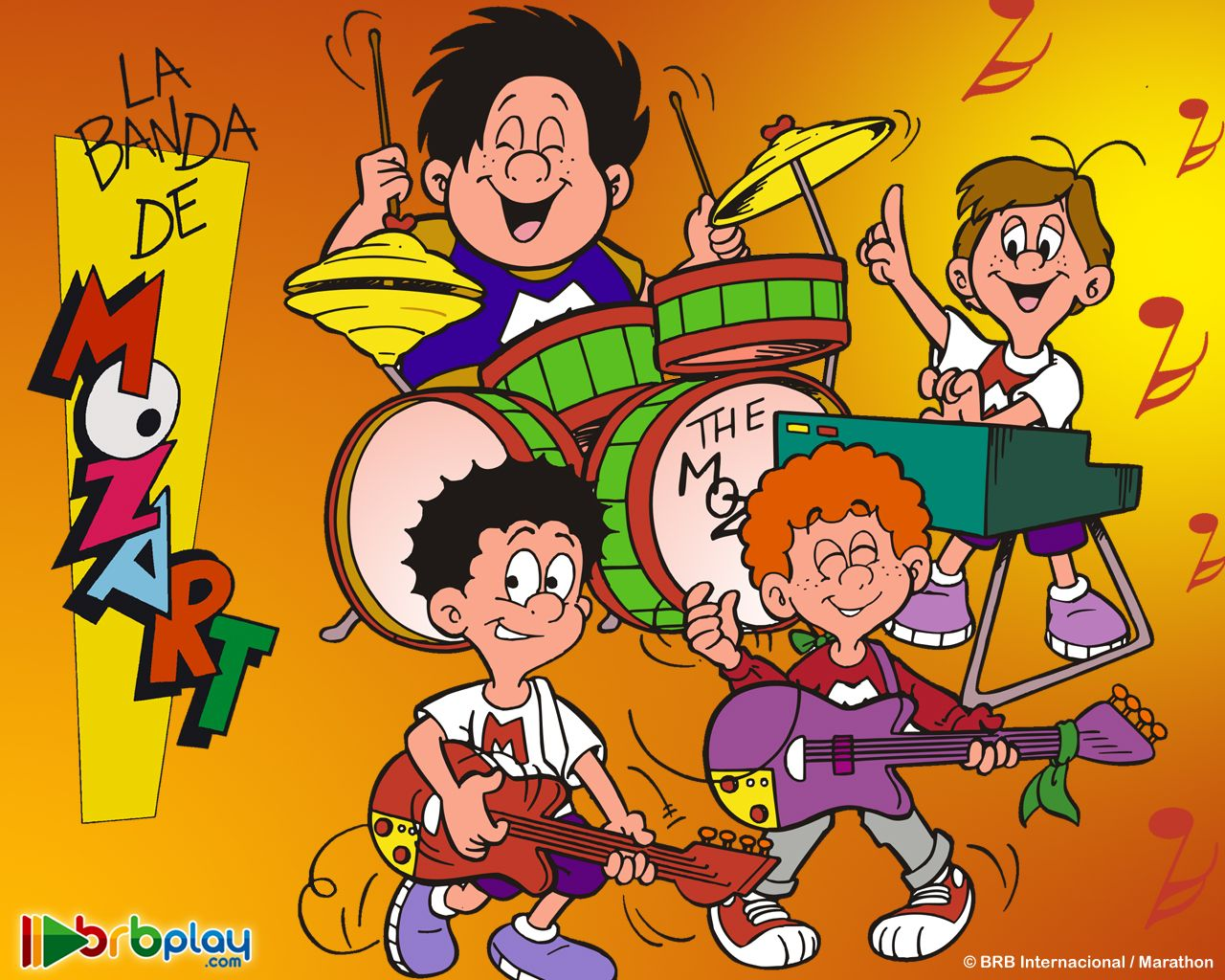 La Banda De Mozart Bandas Banda Caricaturas