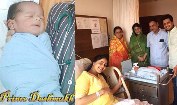 Riteish Deshmukh And Genelia D Souza S Baby Picture View Pics