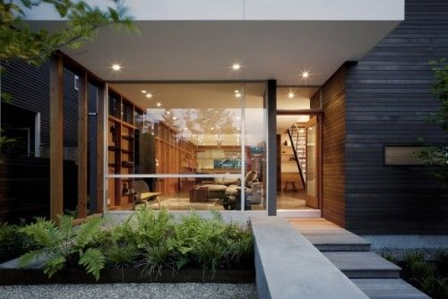 Push_Pull Residence contemporary exterior