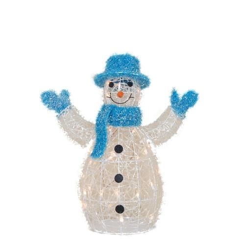 25 tall lighted snowman assorted styles at menards