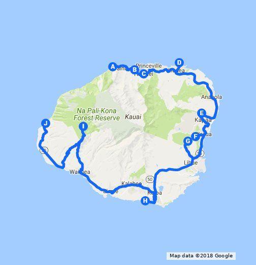 10 Kauai Roadside Stops Kauai Pinterest