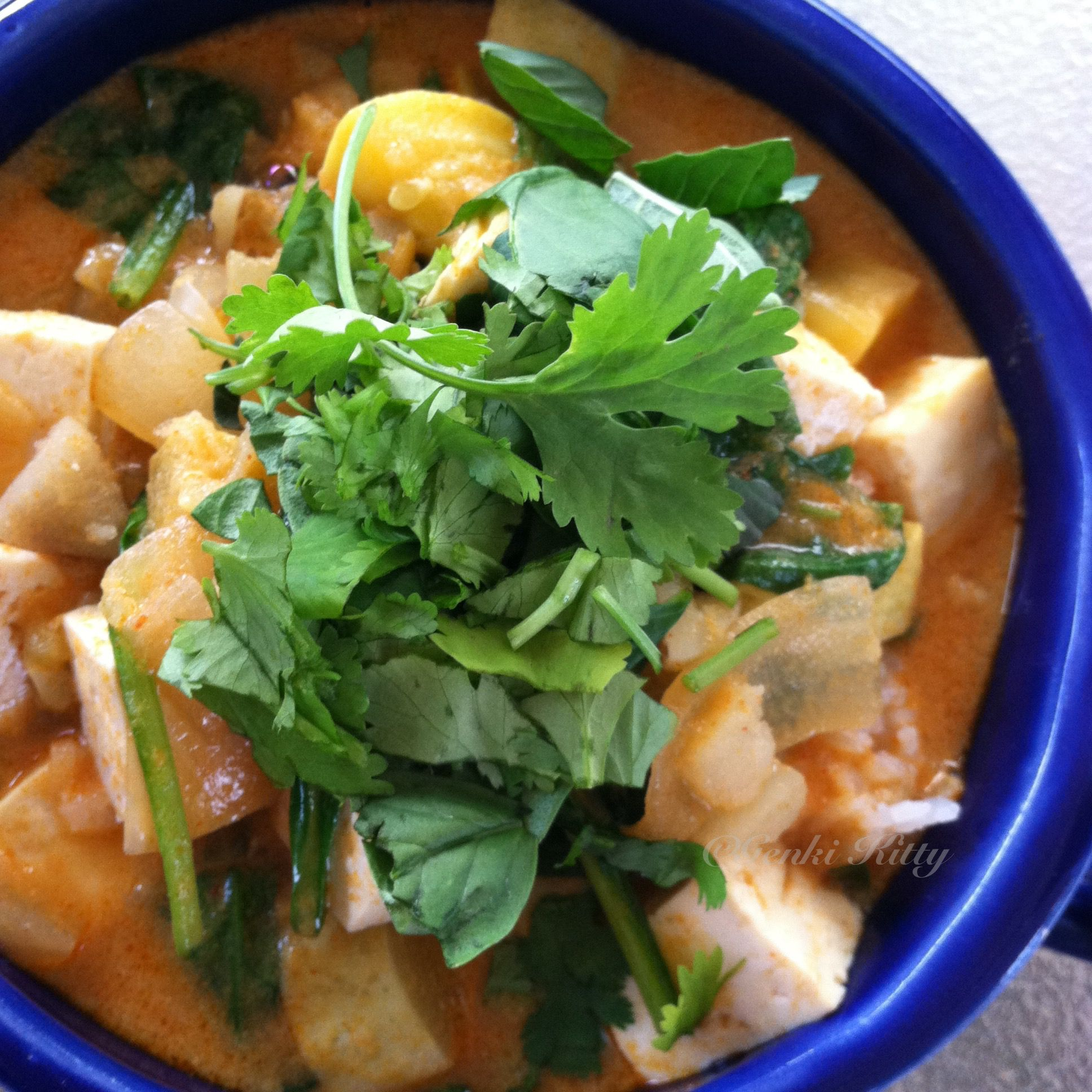 Summer Squash Thai Curry recipe free