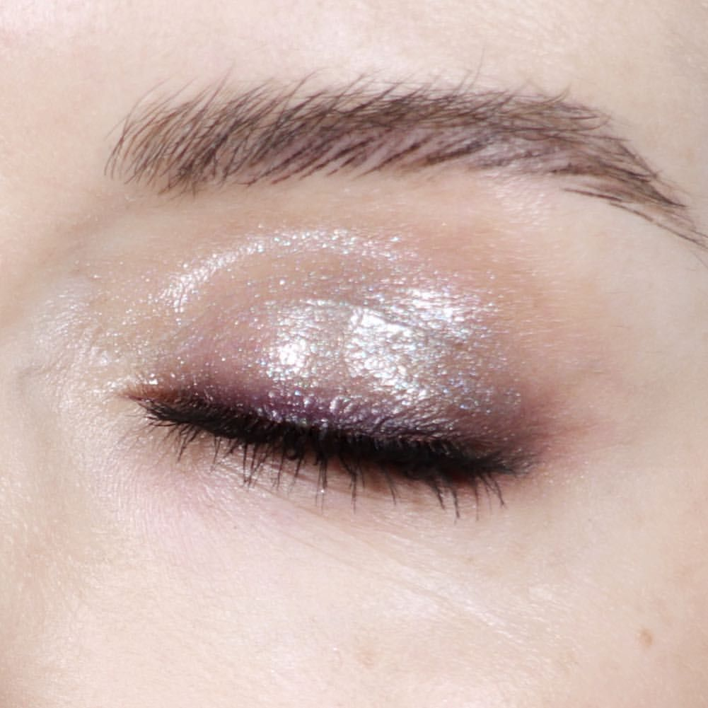 9e1a8c4ae45b PAT McGrath Labs  Holographic cyber clear eye gloss  eye makeup look from  Katie Jane Hughes