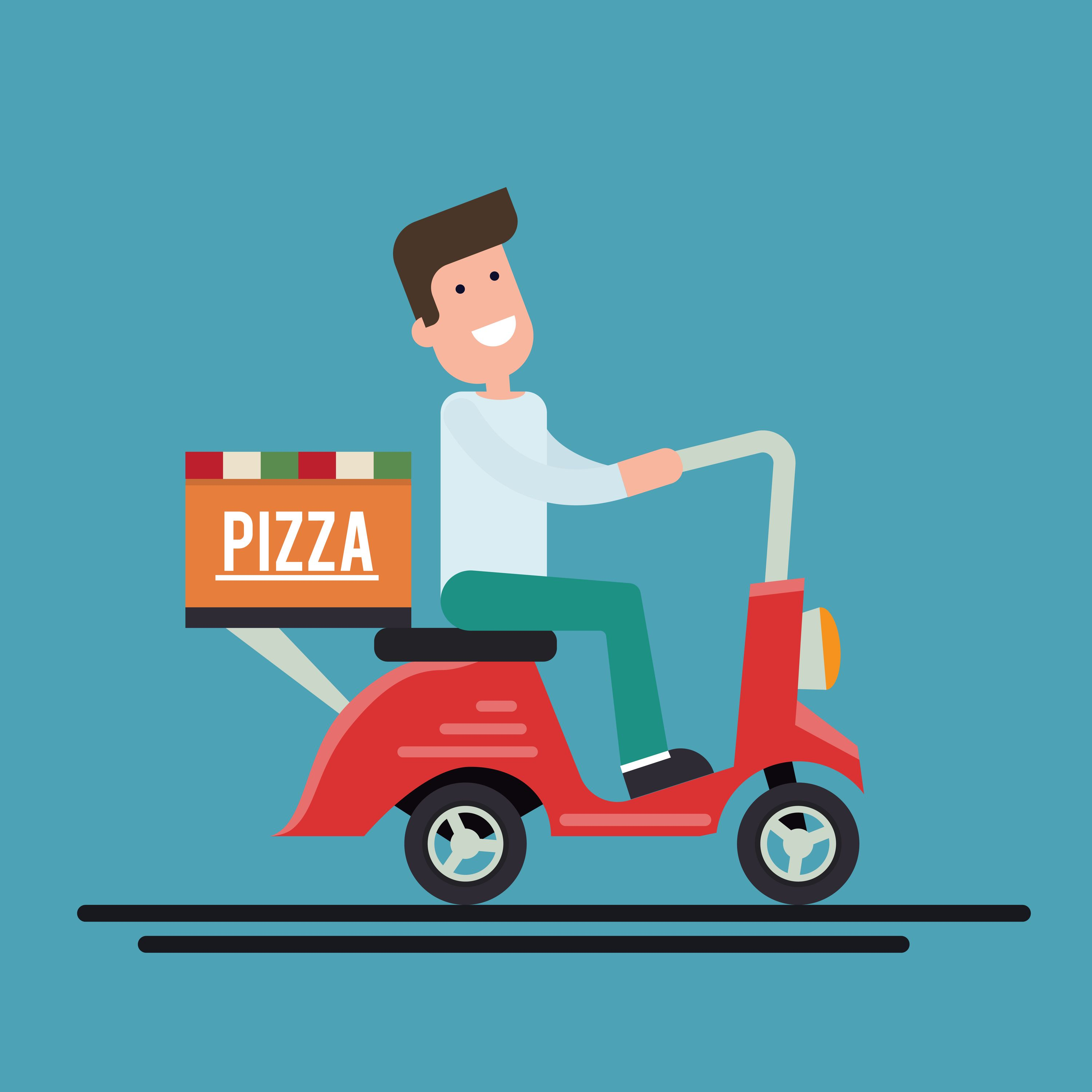 Pin by V3cube Technolabs on Uber For X Pizza delivery