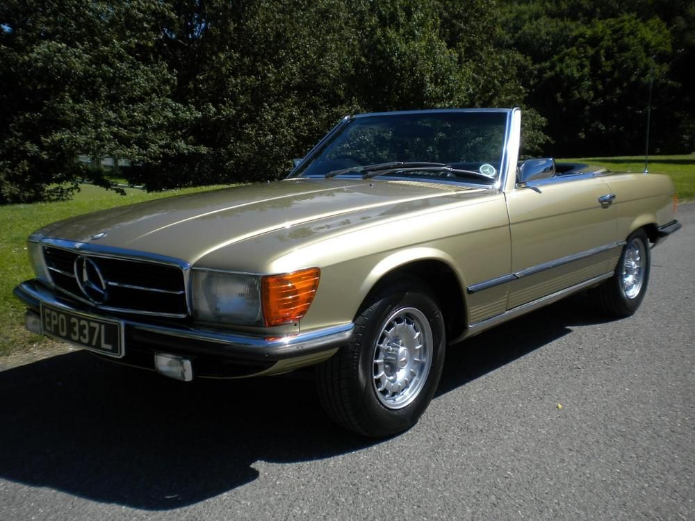 1973 mercedes benz r107 350 sl mercedes benz benz and cars