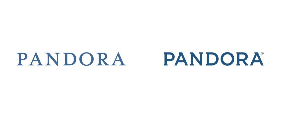 Pandora Radio identity refresh The logo is great. The new
