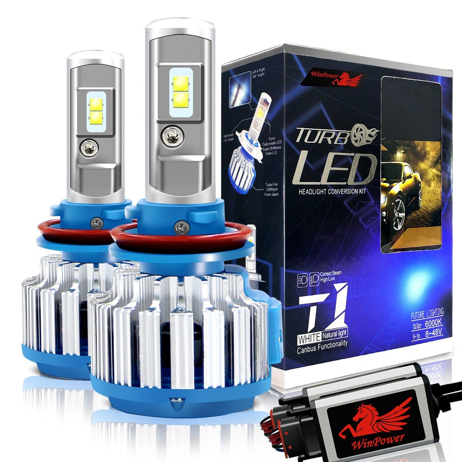 Led Replacement Headlight Bulbs >> Win Power H11 Led Headlight Bulb Top 10 Best Led