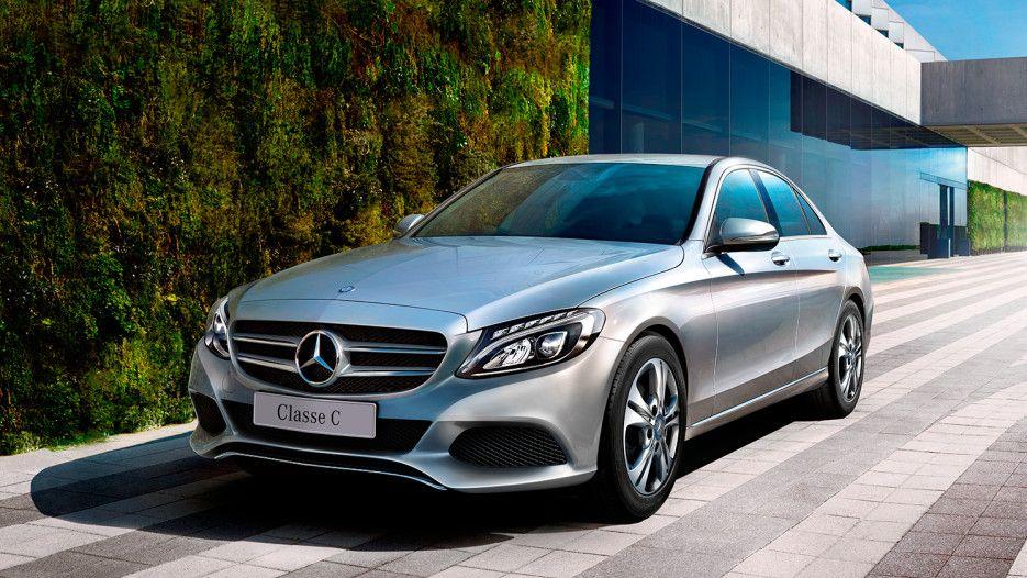 Mercedes Benz Lanca Classe C 180 Com Motorizacao Flex Fuel