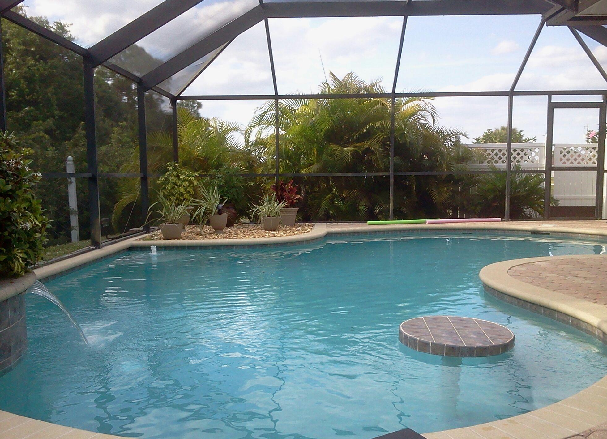 Backyard | Cool pools, Pool, Backyard