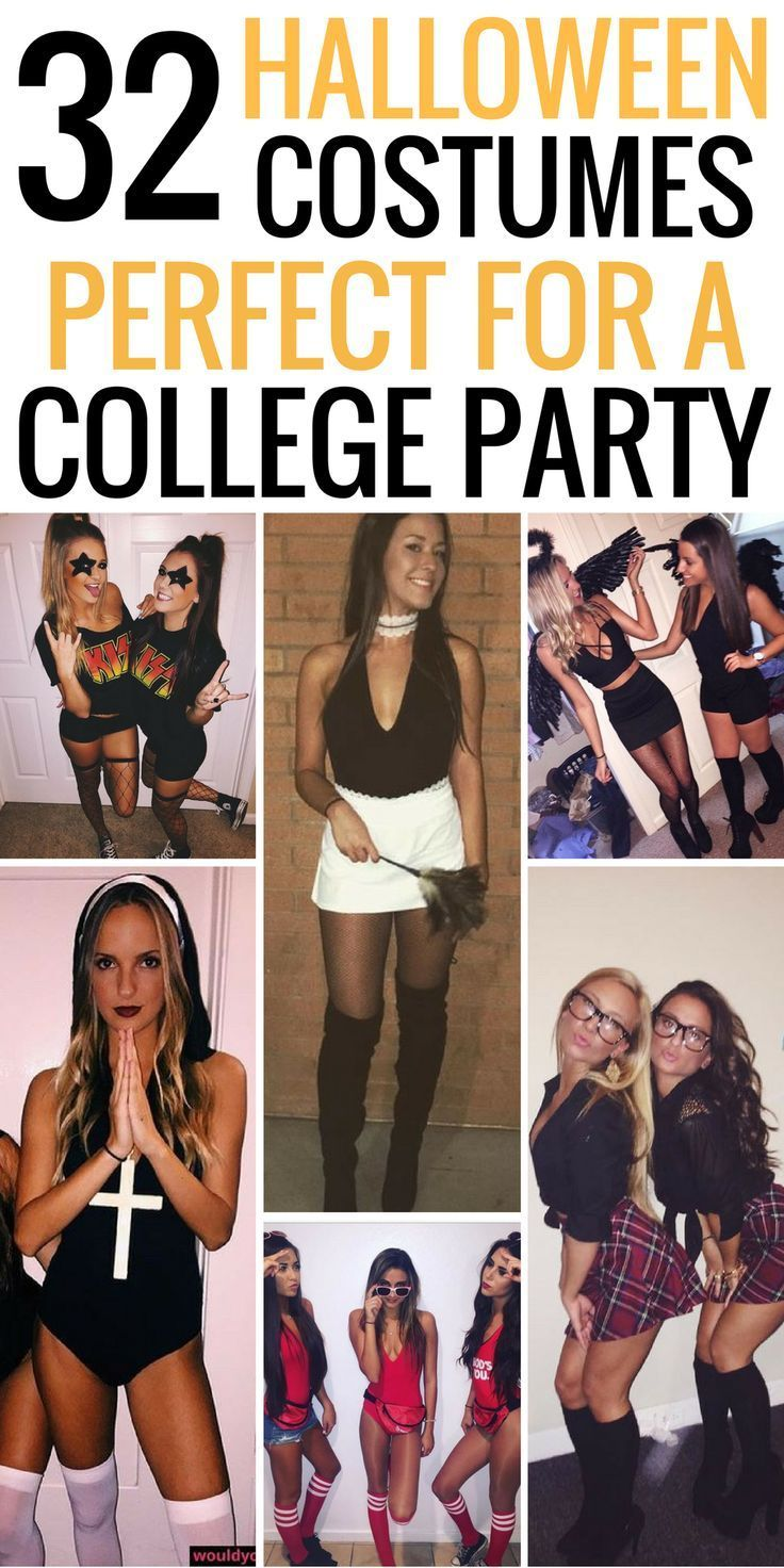 32 easy costumes to copy that are perfect for the college halloween party