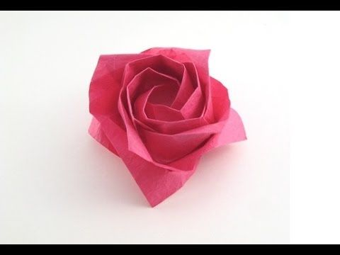 Passionate Rose and Magic Rose Cube Origami Instruction | 360x480