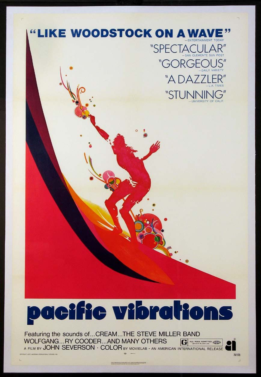 Pacific Vibrations Filmposters Com Surf Poster Surf Movies Film Posters Vintage