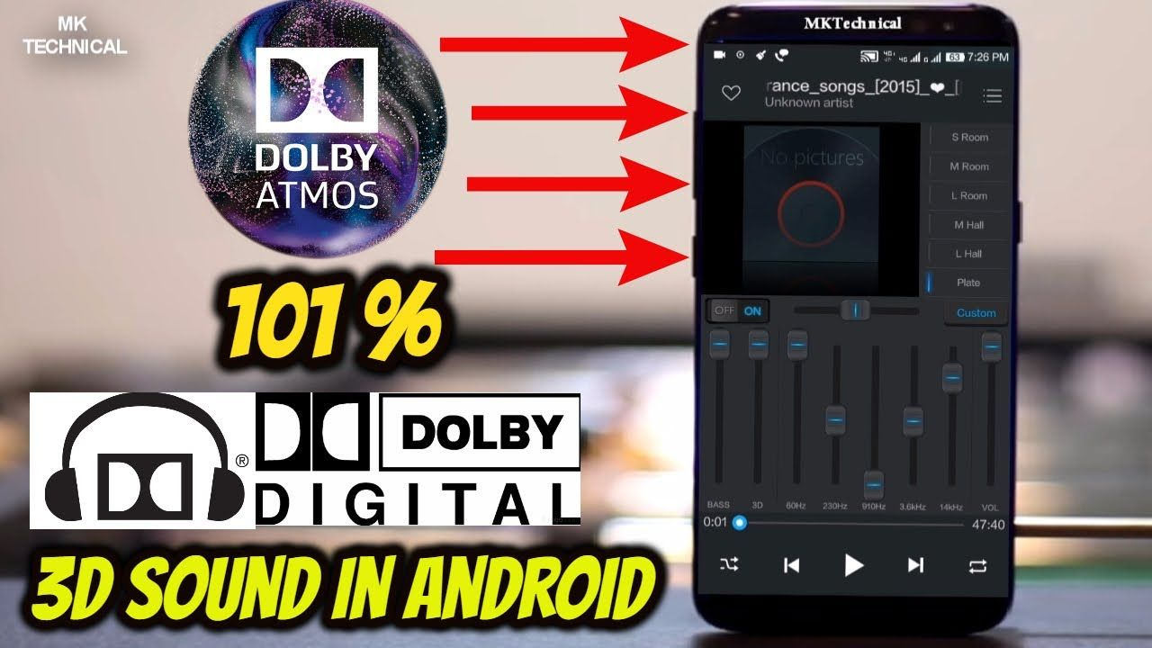 dolby atmos para android 7